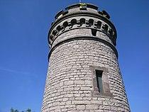 Spitze des Göttinger Bismarckturms 6737928227.jpg