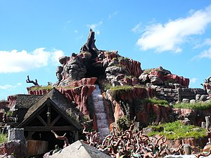 Splash Mountain - Splash Mountain at the Magic Kingdom