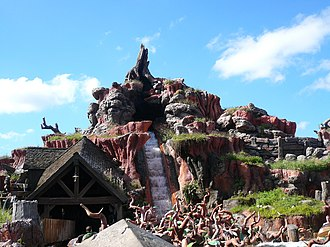 Magic Kingdom - Splash Mountain in Frontierland