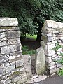 Squeeze stile alongside path into Kirkby Lonsdale - geograph.org.uk - 1910685.jpg