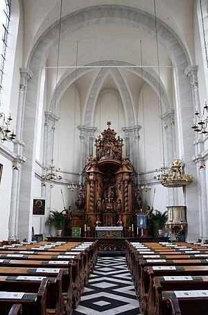 St. Maria in der Kupfergasse - church interior in 2008