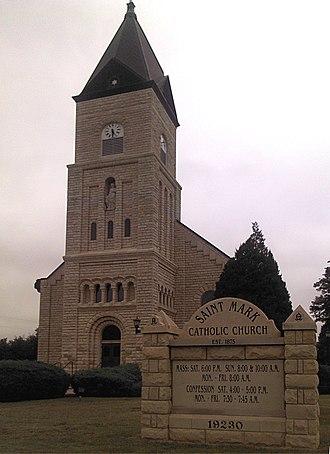 Colwich, Kansas - St. Mark Catholic Church (2012)