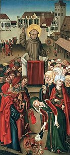 Penitential preacher Johannes Capistranus
