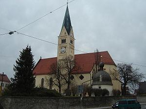 Bobingen - Image: St. Felizitas Kirche Bobingen