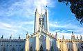 St. Paul's Cathedral,Kolkata HDR front.jpg