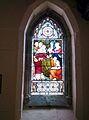 St Helenas Church stained glass in 2015 at Thoroton Notts.jpg