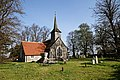 St Mary's Church, Stapleford Tawney, Essex, England ~ from churchyard at northwest.jpg