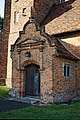 St Michael's Church, Theydon Mount, south porch, Essex, England.jpg