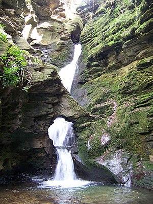 St Nectan's Glen - Waterfall at St Nectan's Kieve