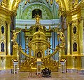 St Petersburg Peter and Paul Cathedral interior 04.jpg