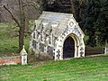 St Withburga, Holkham, Norfolk - Mausoleum - geograph.org.uk - 320394.jpg