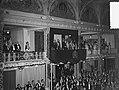 Staatsbezoek Franse president Coty aan Nederland, Den Haag , tweede dag, galacon, Bestanddeelnr 906-6149.jpg