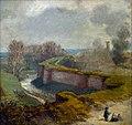 Stadswal bij Lindenkruis te Maastricht (Th Schaepkens, ca. 1840).jpg