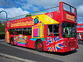 Stagecoach bus 14669 Leyland Olympian Northern Counties H669 BNL City Sightseeing full open top Metrocentre rally 2009 1.JPG