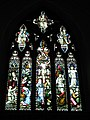 Stained glass window above the altar at St Mary's, Alverstoke - geograph.org.uk - 1424939.jpg