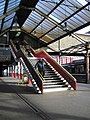 Stairs at Crewe station - geograph.org.uk - 1743922.jpg
