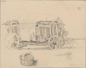 A study of freight waggon