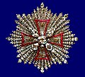 Star of the Royal Diamantrosengarnitur of the Order of White Eagle of Augustus II the Strong.jpg