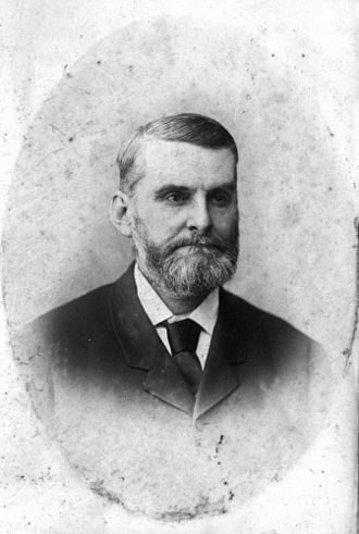 Deputy Premier of Queensland - Image: State Lib Qld 2 115088 Andrew Henry Barlow in 1889