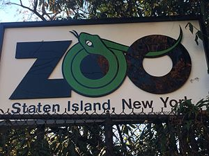 Staten Island Zoo - Image: Staten Island Zoo Logo