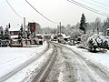 Station Road in the Winter, Woolhampton - geograph.org.uk - 333332.jpg