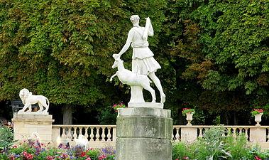 Jardin du luxembourg wikimonde for Buvette des marionnettes du jardin du luxembourg