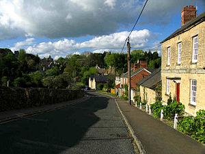 Steeple Aston - Image: Steeple Aston in 2005
