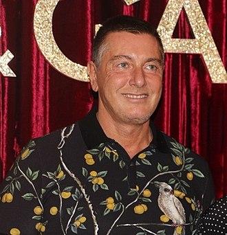 Stefano Gabbana - Gabbana in 2016