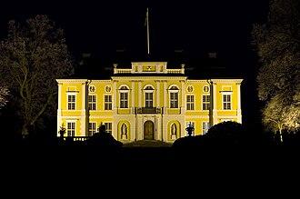 Steninge Palace - Steninge Palace at Night.