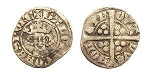 Gaucher V de Châtillon - Image: Sterling Gaucher Chatillon Florennes 1312 1322