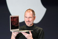Steve Jobs with MacBook Air.jpg