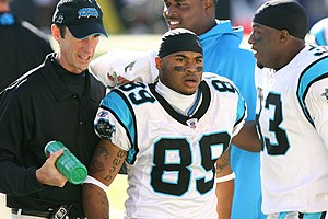 2006 Carolina Panthers season - Image: Steve Smith and Nate Salley