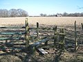 Stile on the High Weald Landscape Trail on the Isle of Oxney - geograph.org.uk - 1743120.jpg