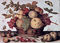 Still life with a basket of fruit, by Balthasar van der Ast.jpg