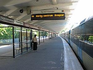 Hägerstensåsen metro station