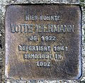Stolperstein Fehrbelliner Str 86 (Prenz) Lotte Ibermann.jpg