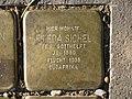 Stolperstein Frieda Sichel, 1, Malsburgstraße 12, Vorderer Westen, Kassel.jpg