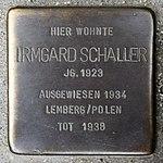 Stolperstein Irmgard Schaller Müllheim.jpg