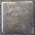 Stolperstein Issum Kapellener Straße 5 Martha Falkenstein.jpg