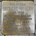Stolperstein Lingen Schlachterstraße 12 Siegmund Hanauer.jpg