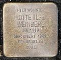Stolperstein Remscheid Alleestraße 56 Lotte Ilse Weinberg.jpg