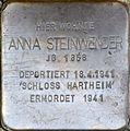 Stolperstein Salzburg, Anna Steinwender (Lasserstraße 23).jpg