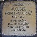 Stolperstein für Augusta Friedlanderova.jpg