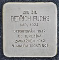 Stolperstein für Bedrich Fuchs (Lostice).jpg