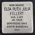 Stolperstein für Elsa Ruth Fellert.JPG