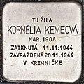 Stolperstein für Kornelia Kemeova.jpg