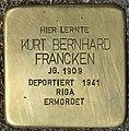 Stolperstein für Kurt Bernhard Francken (Köln).jpg