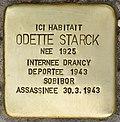 Stolperstein für Odette Starck (Fontenay-sous-Bois).jpg