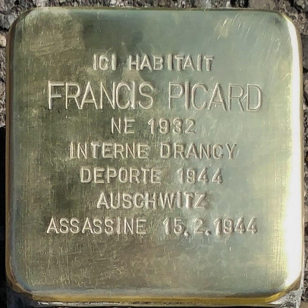 Stolperstein Francis Picard (Herrlisheim-près-Colmar)