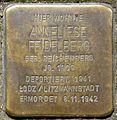 Stolpersteine Köln, Anneliese Feidelberg (Humboldtstr. 42).jpg